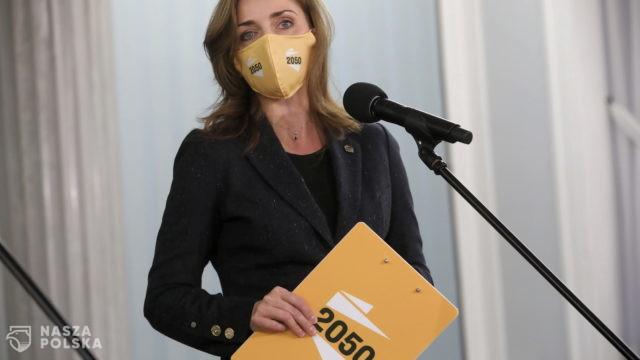 Joanna Mucha: Polska 2050 to rozpędzona machina