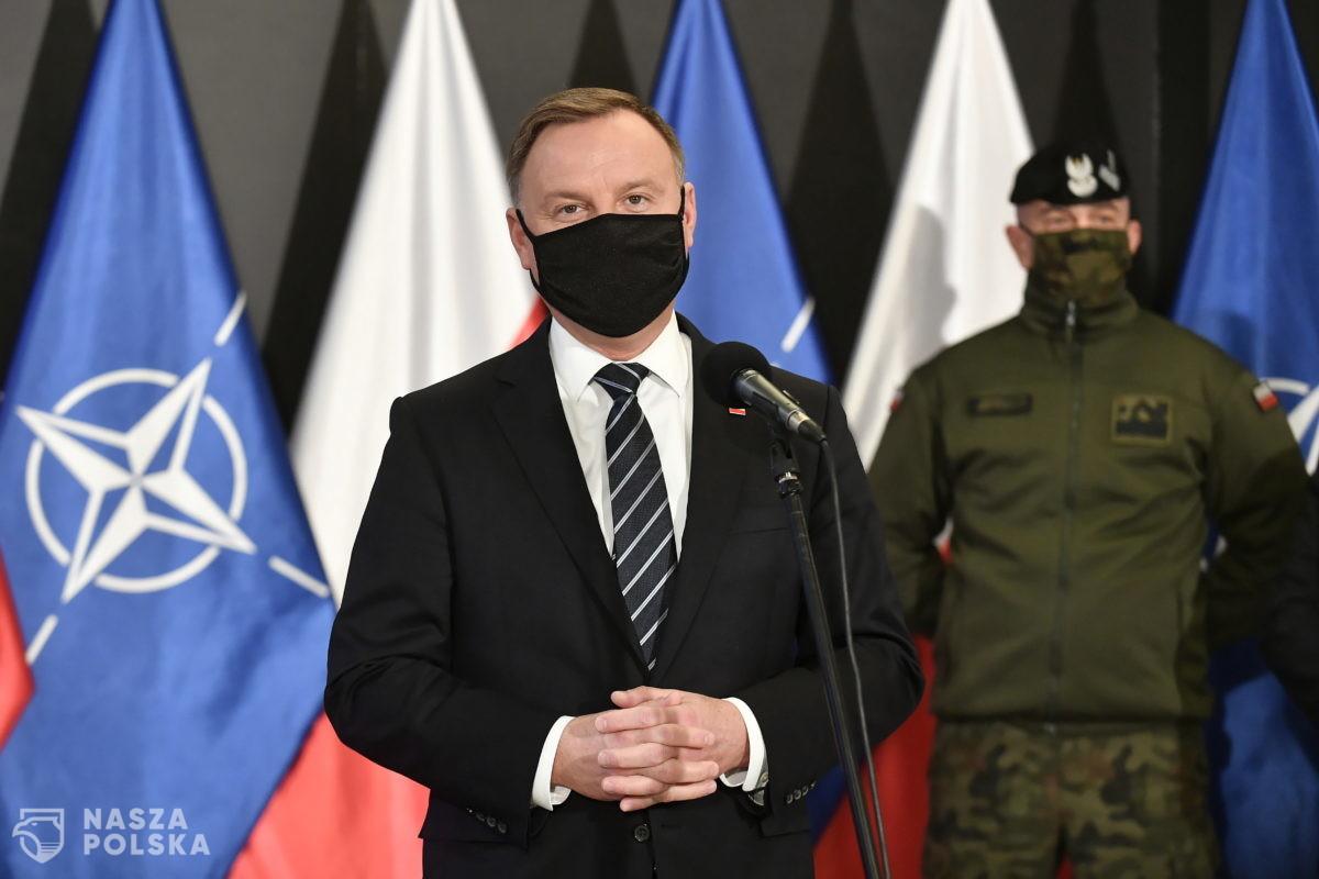 """Skończyły się tajne, wojskowe ćwiczenia """"Zima"""". Prezydent oczekuje rekomendacji"""