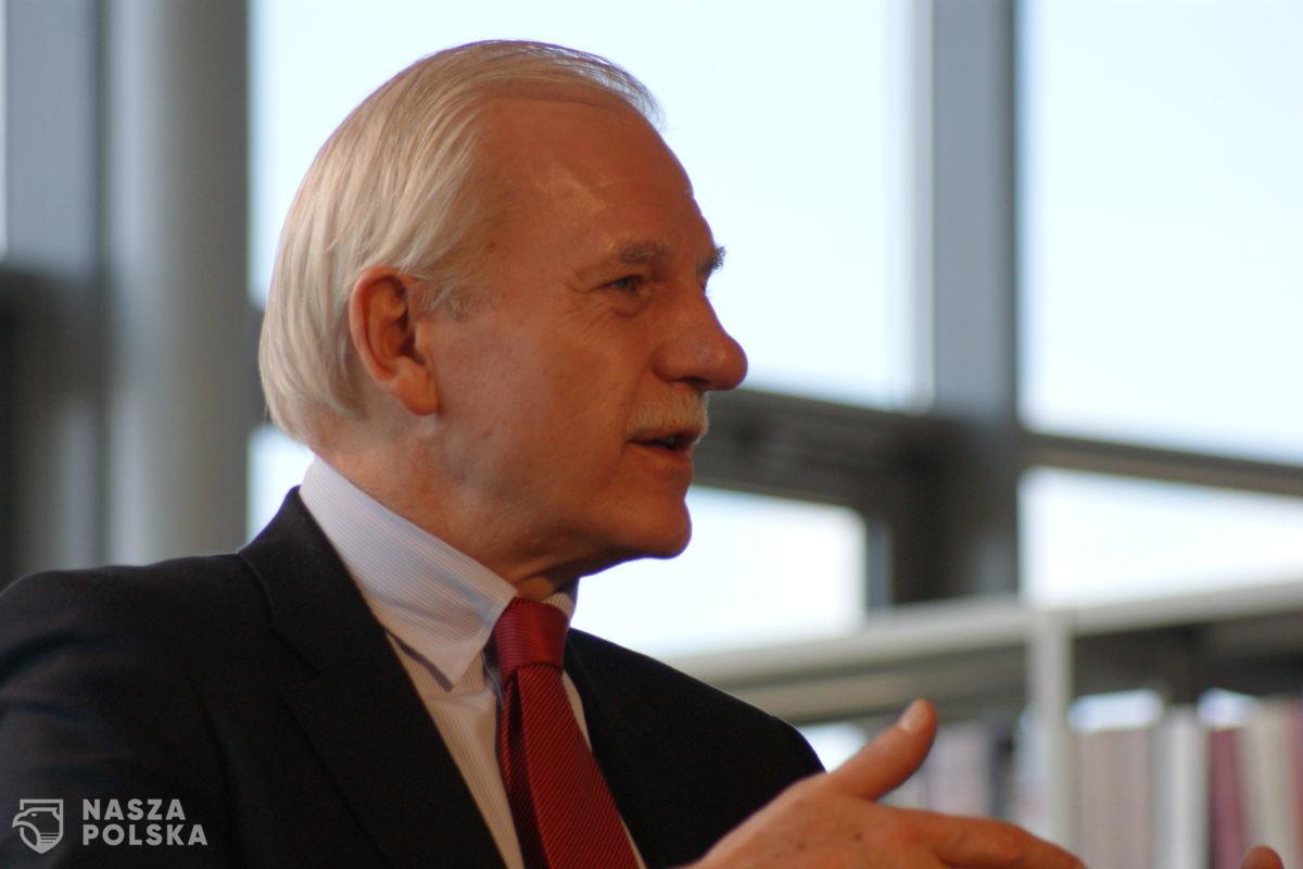 Olechowski: współtworzyłem inną Platformę