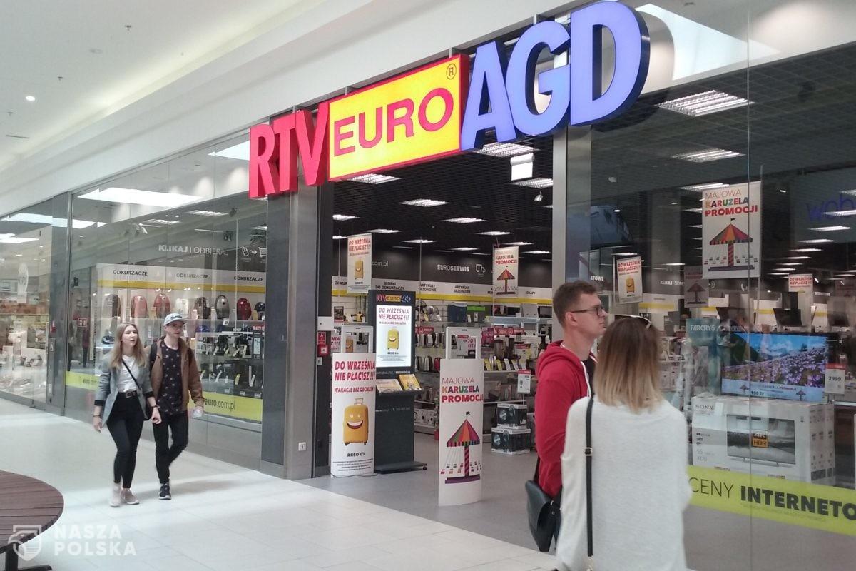 Sklepy RTV Euro AGD otwarte w galeriach pomimo zakazu