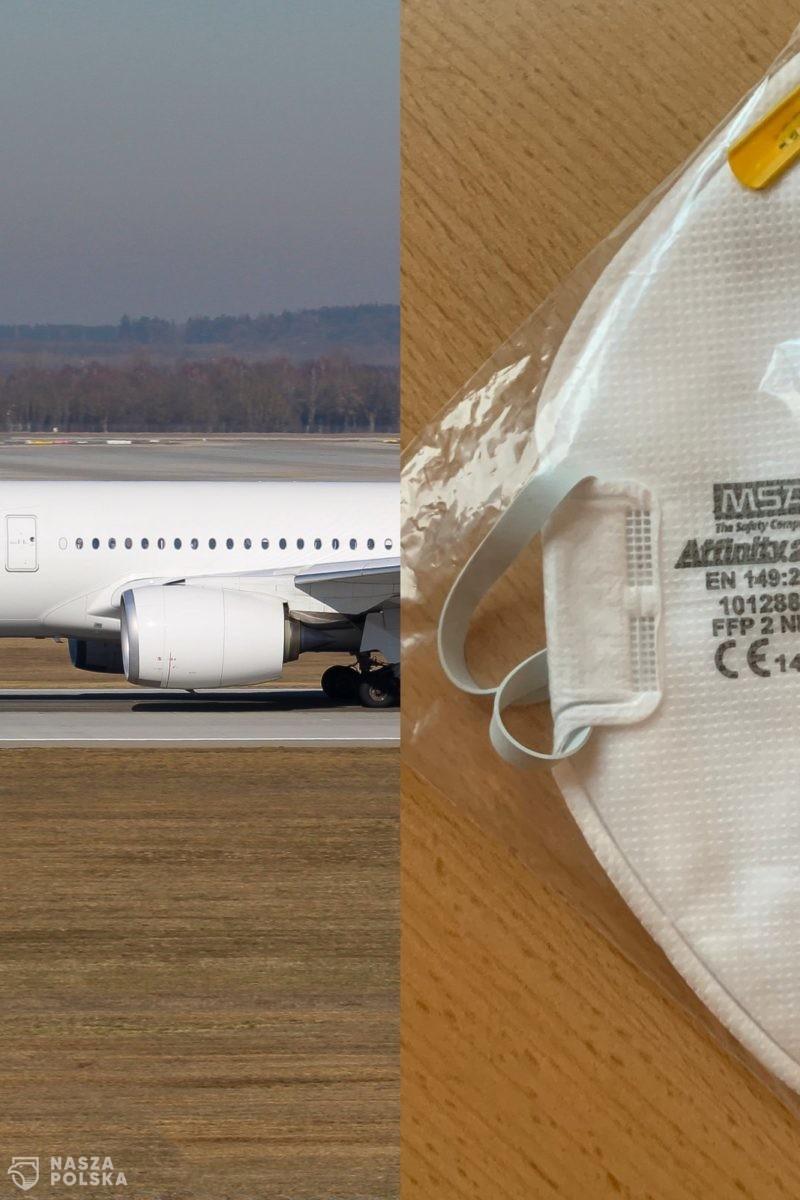 Niemcy/ Obowiązek noszenia maseczek FFP2 w samolotach i na lotniskach