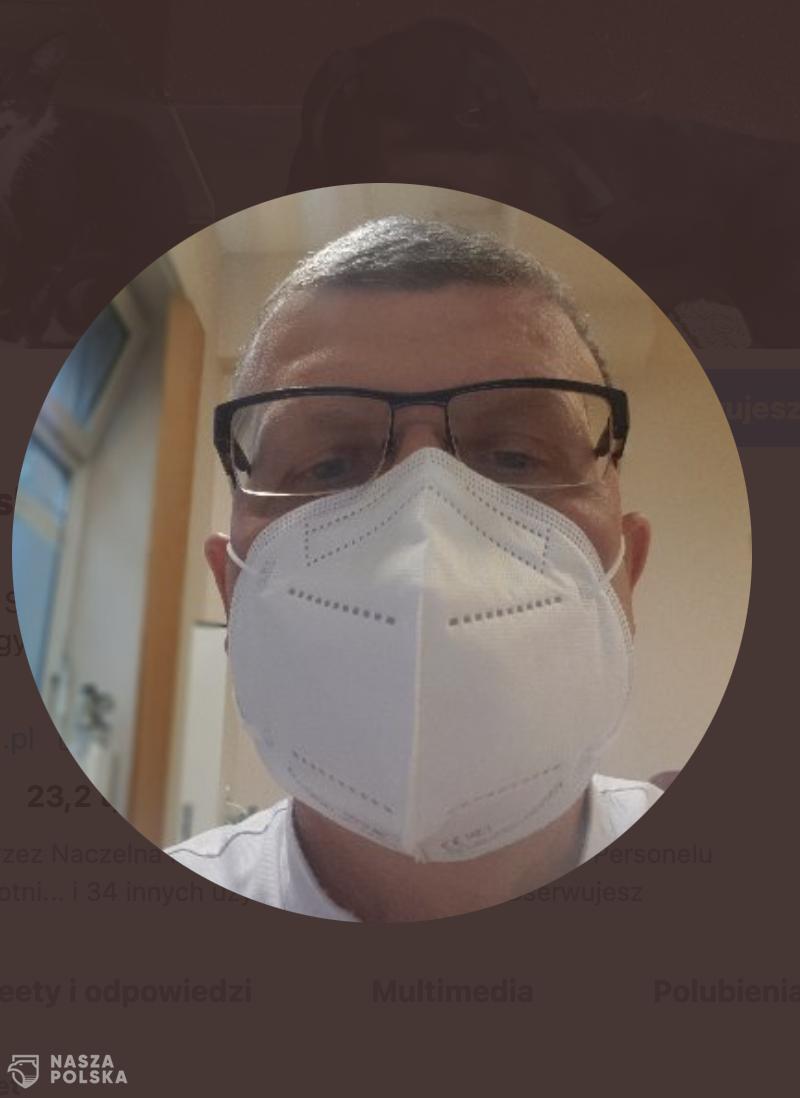 Dr Grzesiowski o kolejkach w sklepach: Medycy bez kolejki!