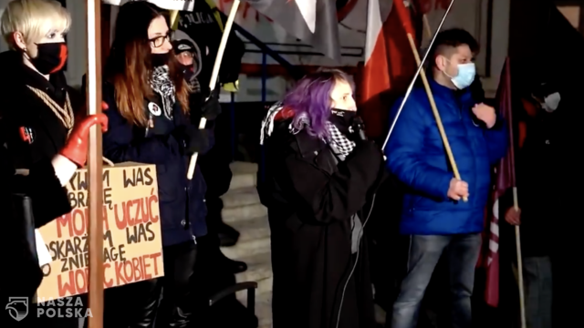 [FILM] Strajk Kobiet/ Aktywistka w wulgarnych słowach o Kai Godek