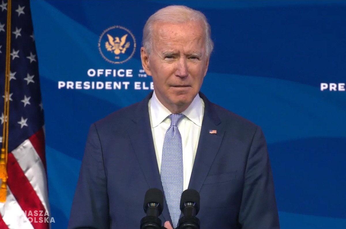 Joe Biden zaprzysiężony na prezydenta