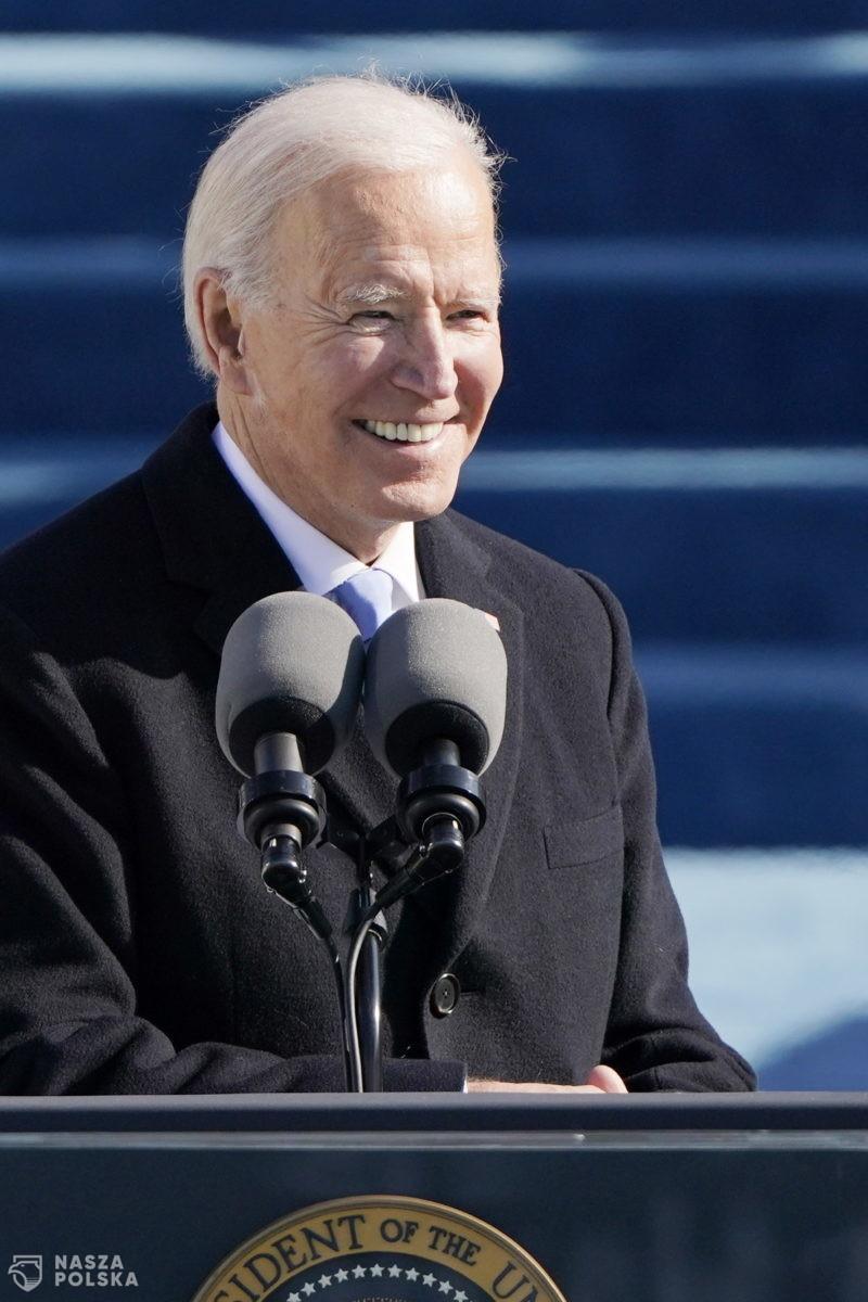 Prezydent Andrzej Duda pogratulował Joe Bidenowi objęcia urzędu prezydenta USA