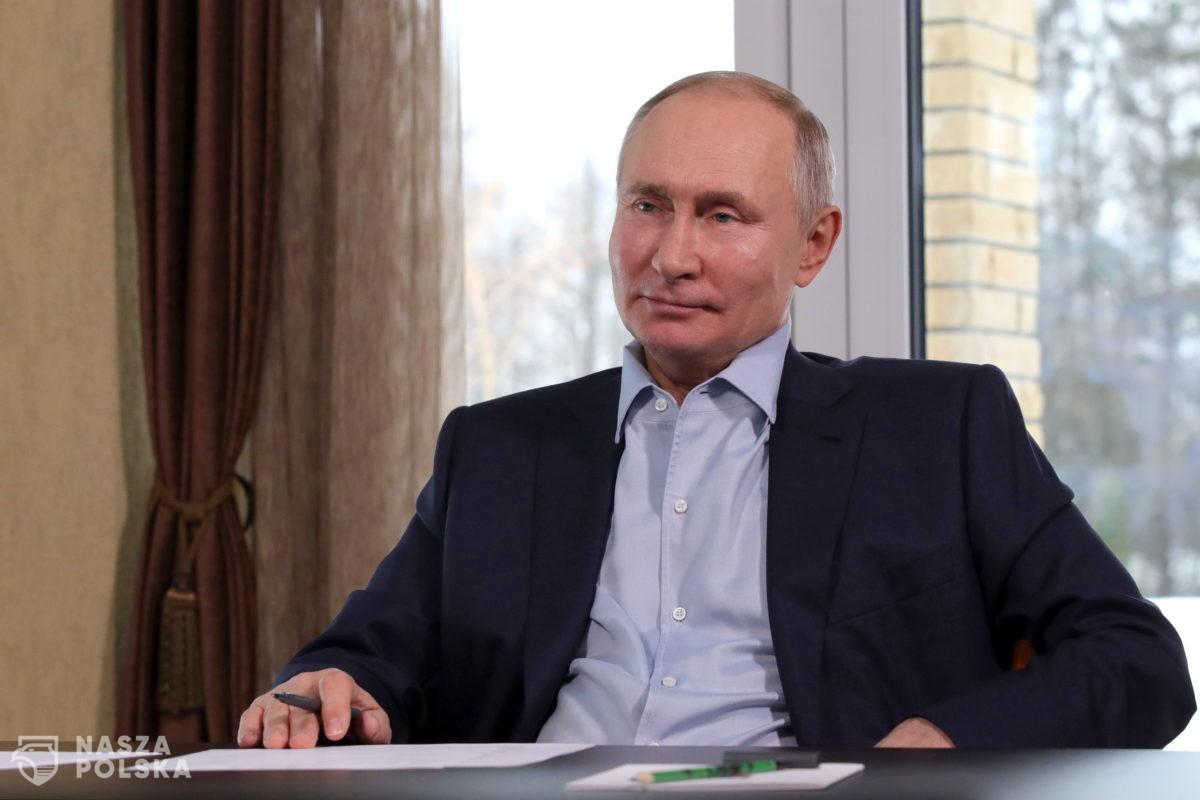 Putin skomentował sobotnie protesty w kraju w obronie Aleksieja Nawalnego