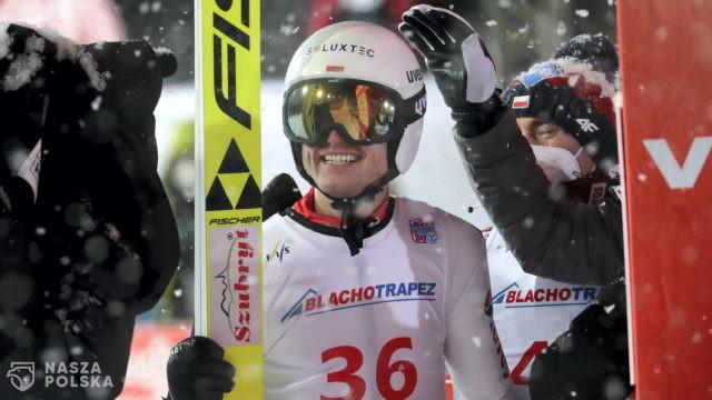 Pierwszy podium w karierze Andrzeja Stękały