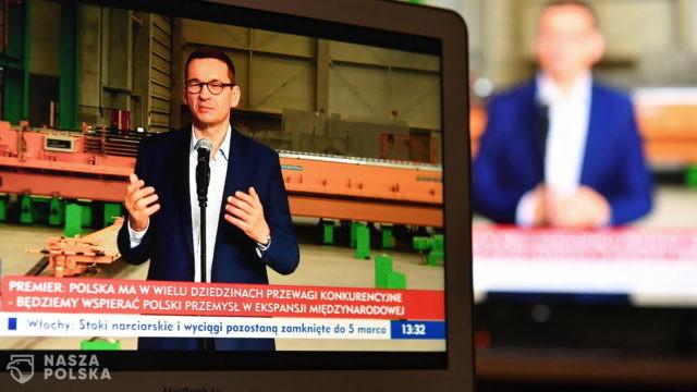 Premier: podatek od reklam musi być progresywny