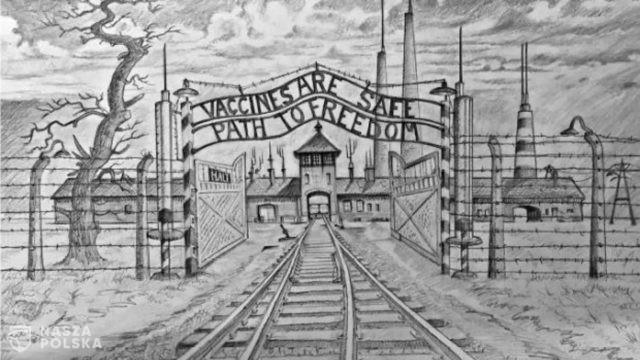 W. Brytania/ Brat byłego lidera opozycji aresztowany za porównanie szczepień do Auschwitz