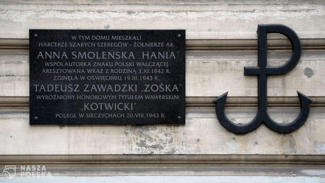 101 lat temu urodziła się Anna Smoleńska, twórczyni symbolu Kotwicy