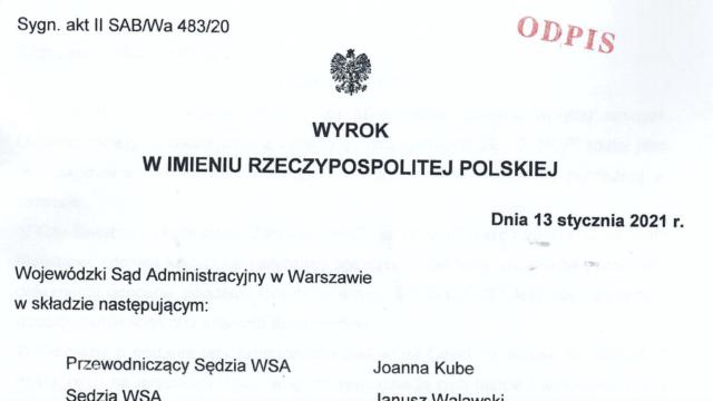 STOP NOP wygrało w sądzie z Ministrem Zdrowia