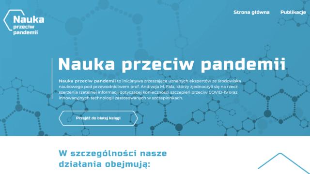 """""""Nauka przeciw pandemii"""": ugrupowania antyszczepionkowe starają się """"zmanipulować opinię publiczną"""""""