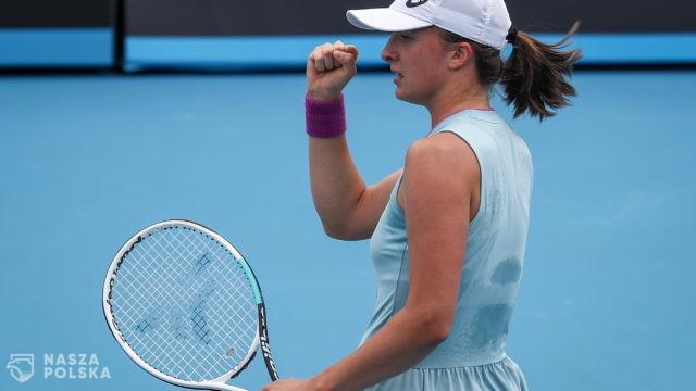 Australian Open – pewny awans Świątek do trzeciej rundy