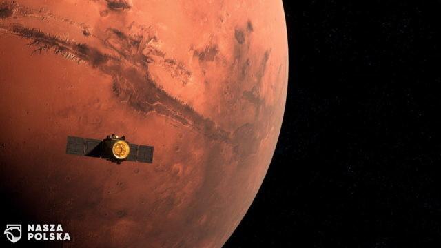 Arabska sonda weszła na orbitę Marsa