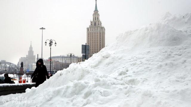 Śnieżna Apokalipsa w Moskwie. Metropolia jest częściowo sparaliżowana
