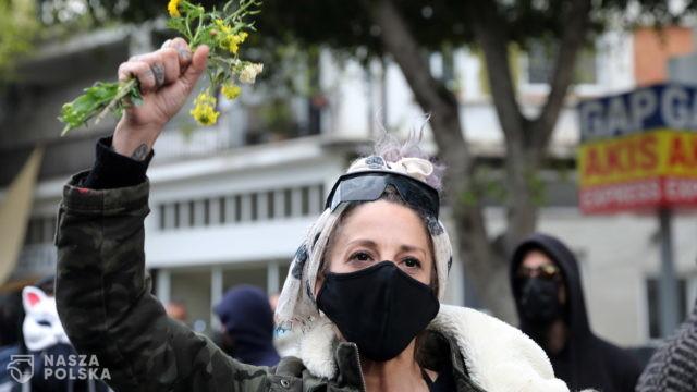 Grecy cypryjscy protestowali przeciwko korupcji i brutalności policji