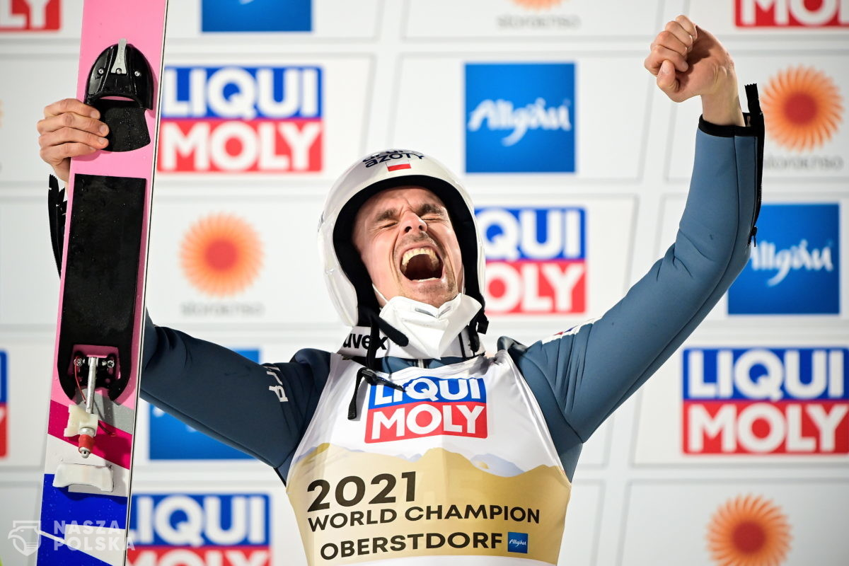 Piotr Żyła mistrzem świata w Oberstdorfie