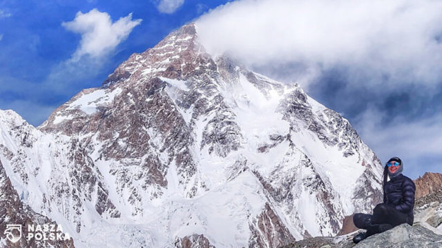 Magdalena Gorzowska wycofała się ze zboczy K2