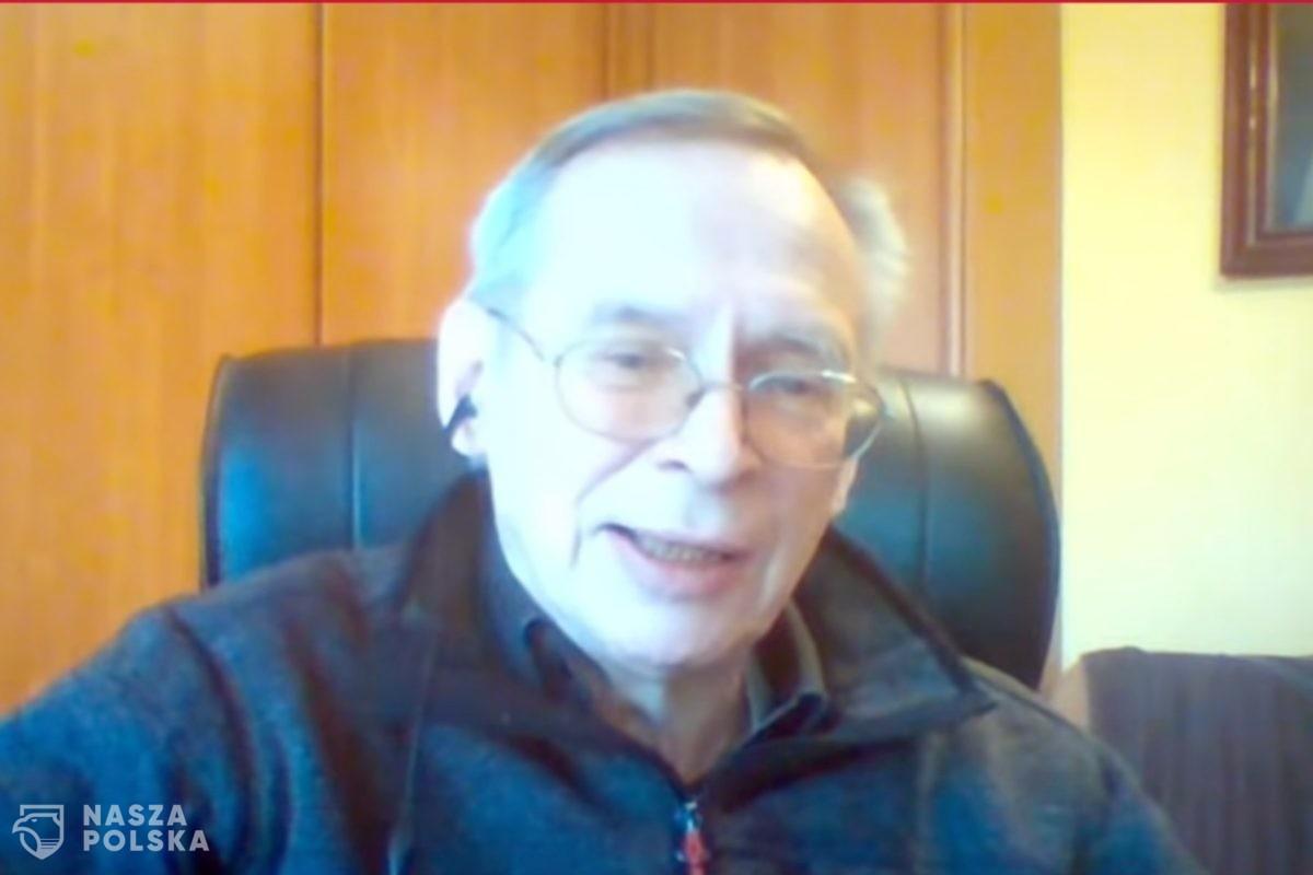Prof. Gut: Gdy zaszczepimy wszystkich chętnych w wieku 60 plus, to mamy koniec epidemii