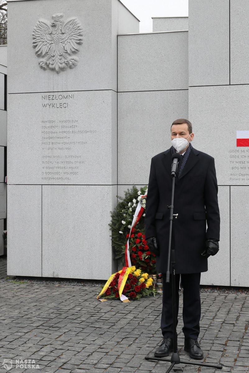 Premier: Żołnierze Wyklęci reprezentowali dobro, a ich komunistyczni oprawcy – imperium zła