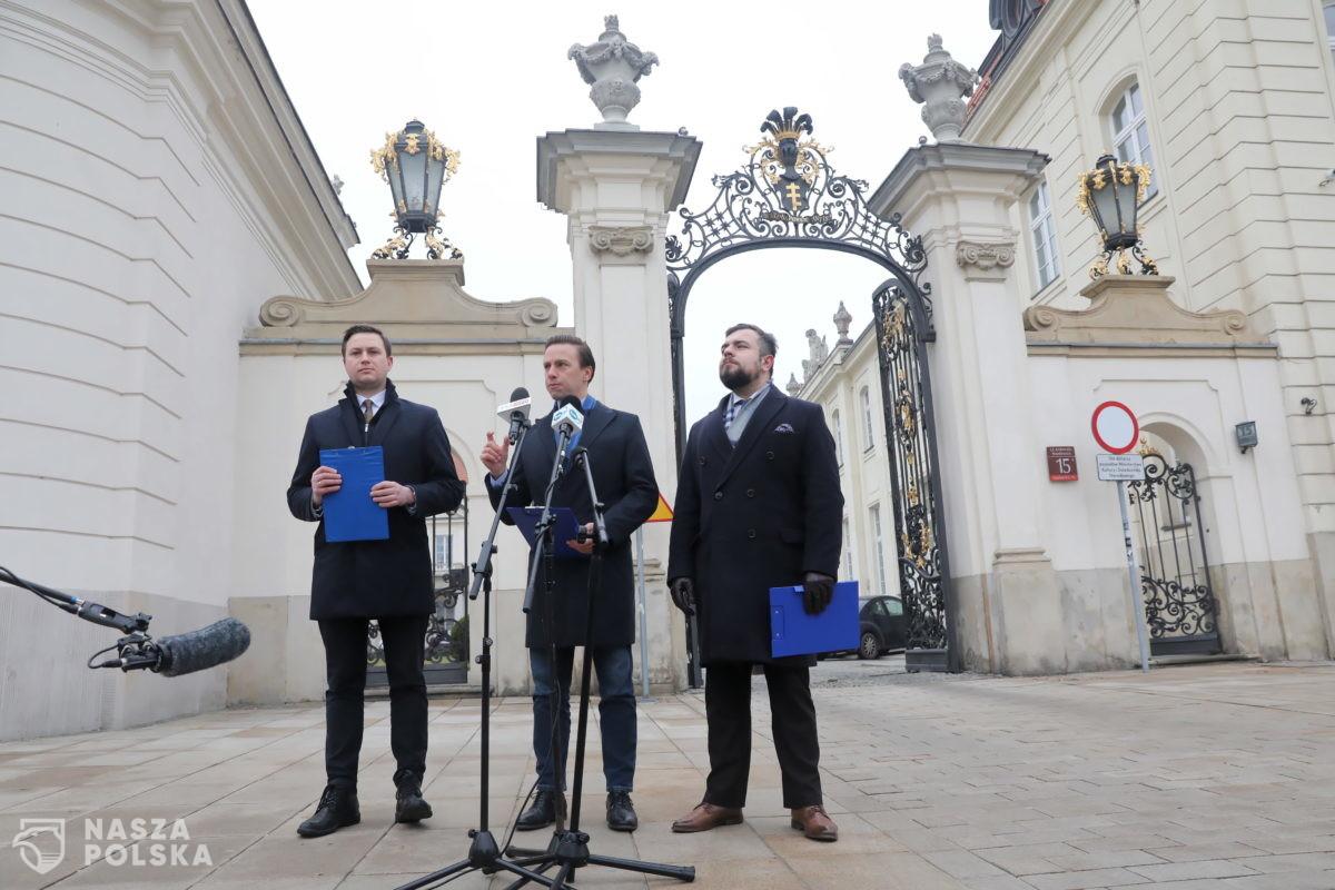 """Konfederacja przed MKiDN: tu pracuje """"kolejny maniak podatkowy"""""""