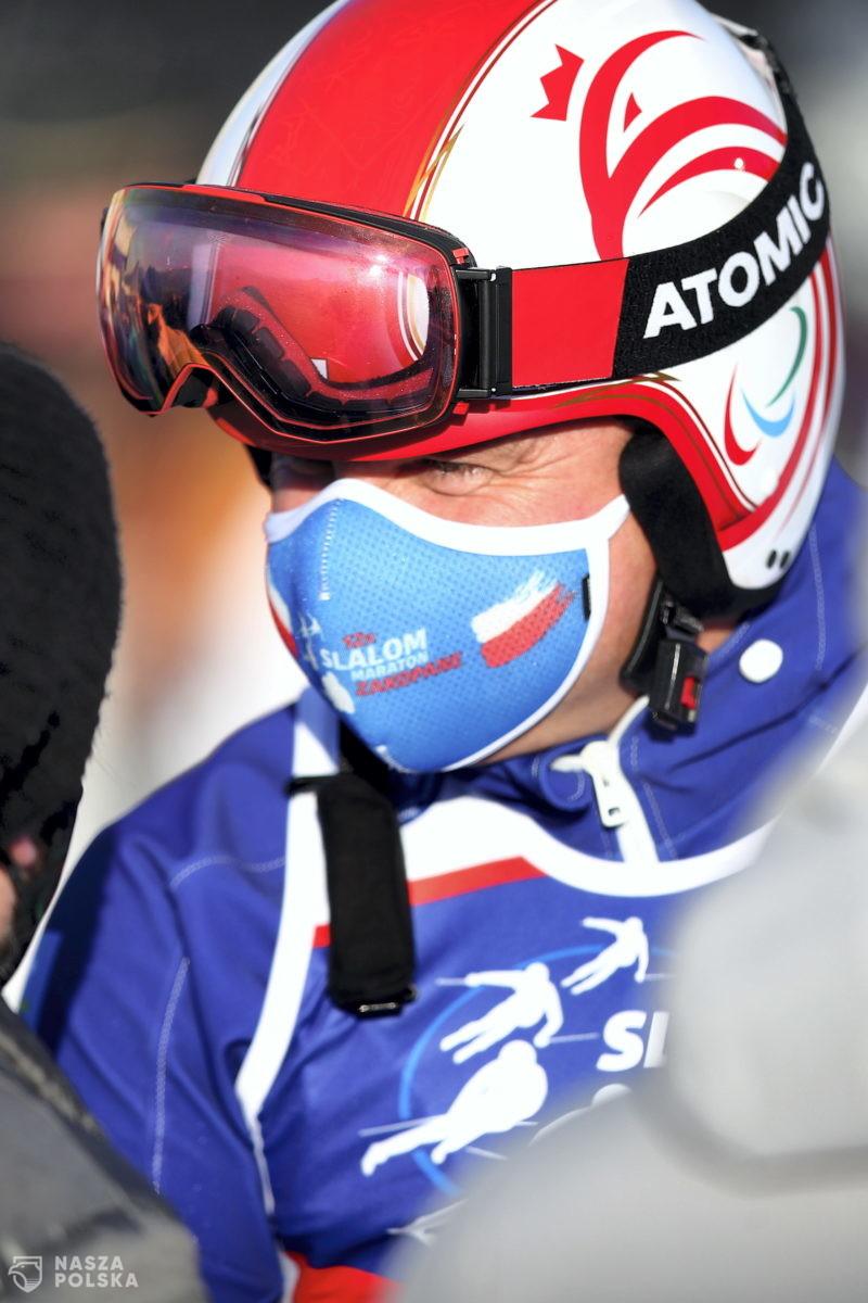 """Prezydent zainaugurował charytatywne zawody w narciarstwie alpejskim """"12H Slalom Maraton Zakopane 2021"""""""