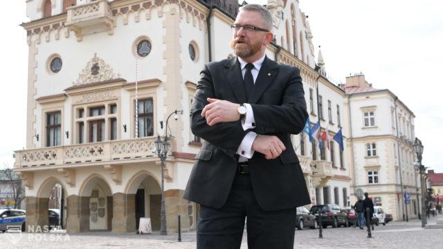"""Braun chce proklamować Rzeszów strefą """"wolną od lockdownu"""""""