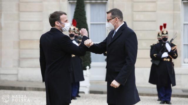 Premier z wizytą w Paryżu: ważne, by Europa działała w czasie pandemii w sposób solidarny