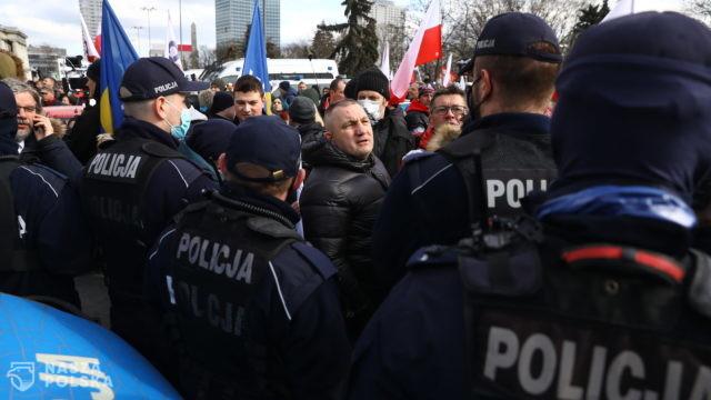 Niedzielski: zero tolerancji dla protestujących przeciw zasadom bezpieczeństwa