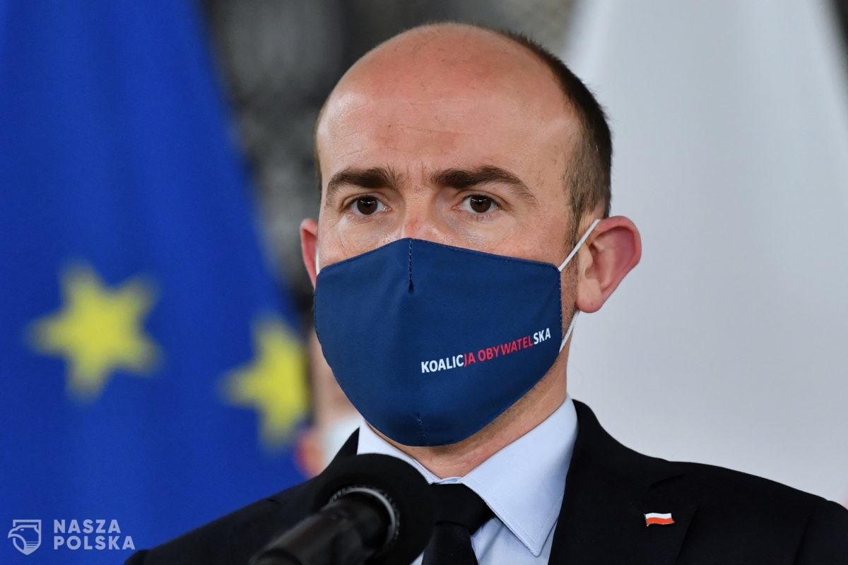 Budka: wszystko wskazuje na to, że uda mi się przekonać Tuska do zaangażowania w polską politykę