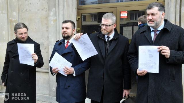 Konfederacja złożyła zawiadomienie do prokuratury o możliwości popełnienia przestępstwa przez członków rządu