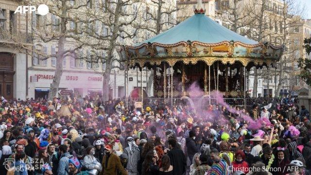 Francja/ Ponad 6 tys. osób wzięło udział w nielegalnym balu karnawałowym w Marsylii, interweniowała policja