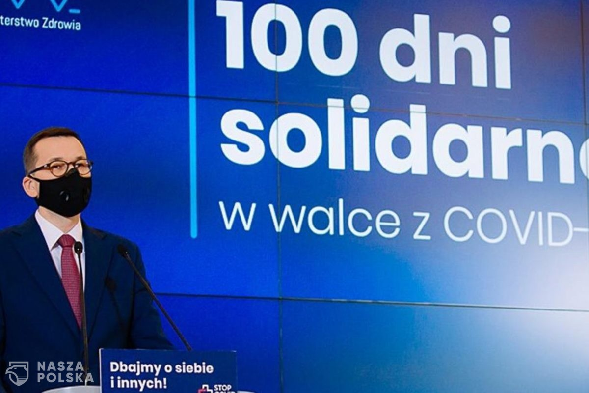 Dziś mija 100 dni solidarności w walce z Covid-19