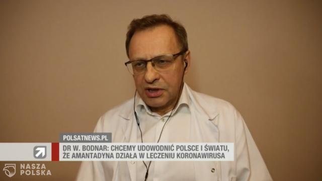 Dr Bodnar: leczenie COVID-19 amantadyną nie jest przestępstwem