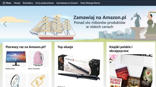 Amazon uruchomił we wtorek polską wersję swojego sklepu