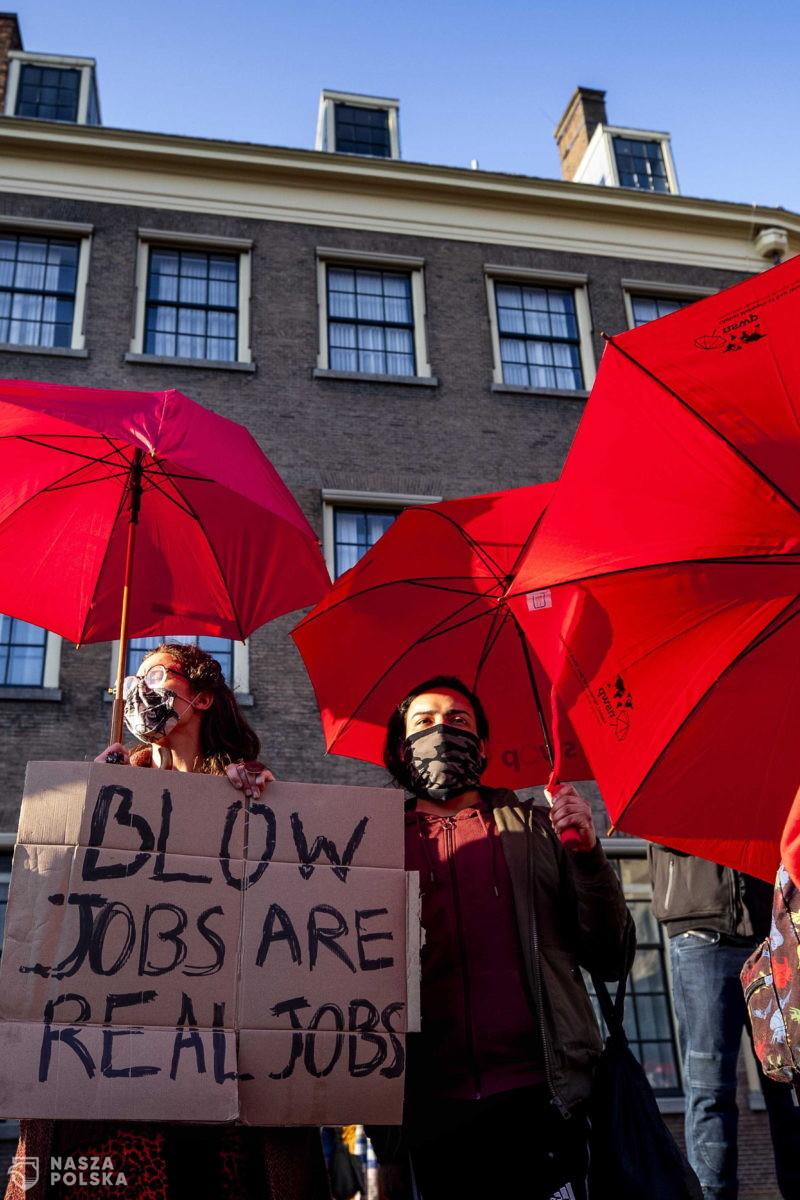 Holandia/ Prostytutki protestowały przed parlamentem w Hadze