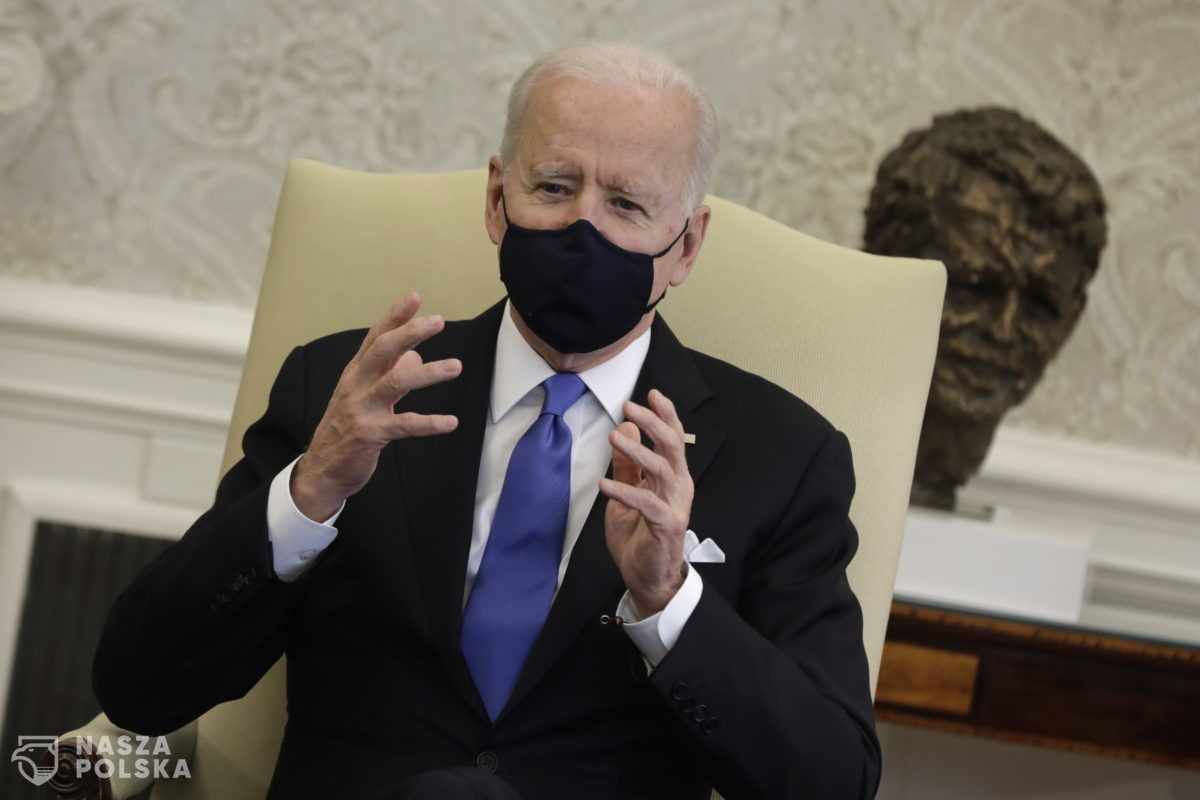Biden: Nord Stream 2 od dawna budzi mój sprzeciw