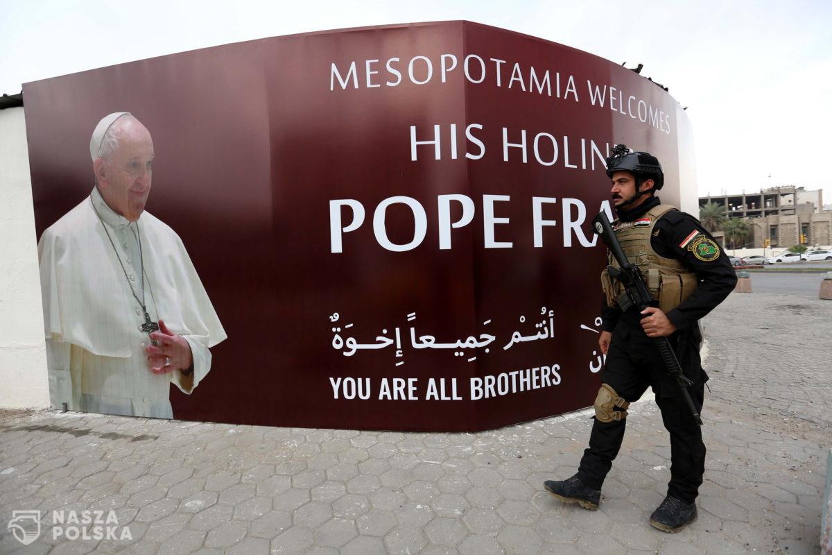 Papież Franciszek wyruszył w podróż do Iraku