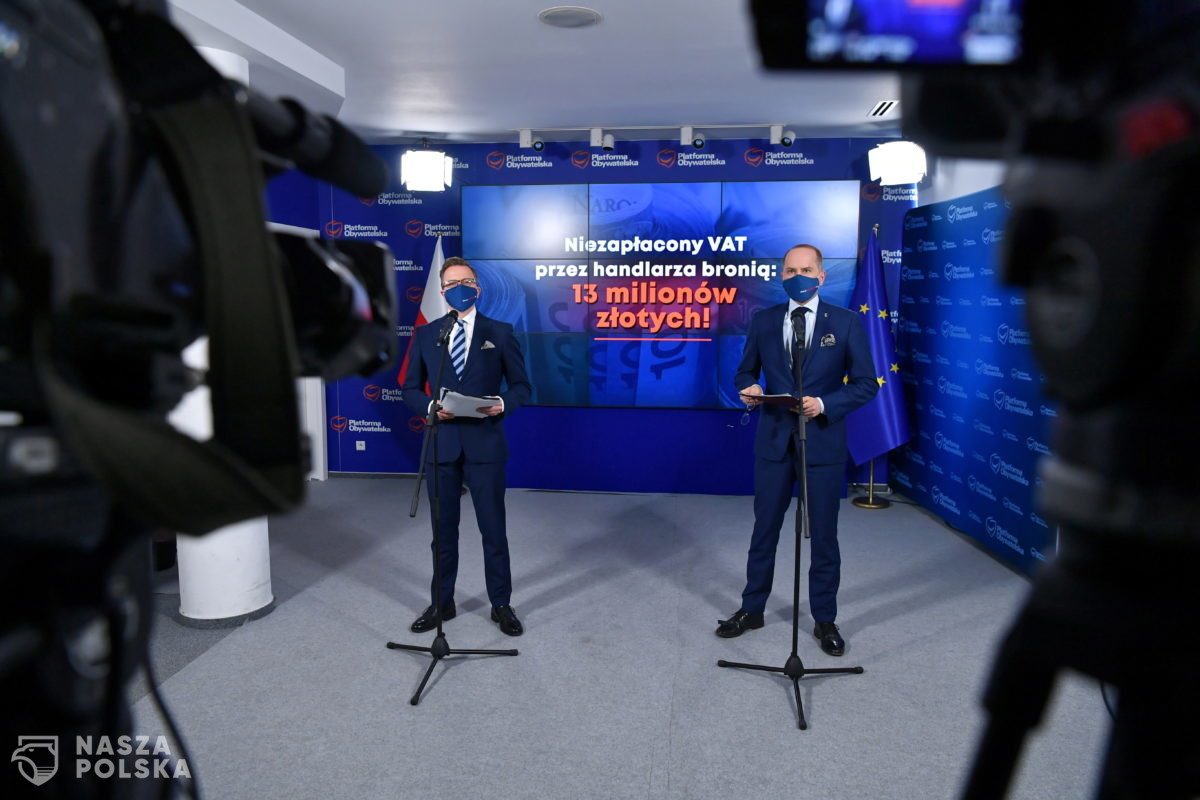 KO: NIK powinna skontrolować brak środków finansowych w budżecie państwa na kwotę 13 mln zł