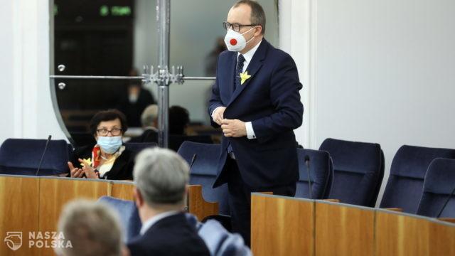 Senatorowie PiS wyszli z sali podczas wystąpienia Adama Bodnara