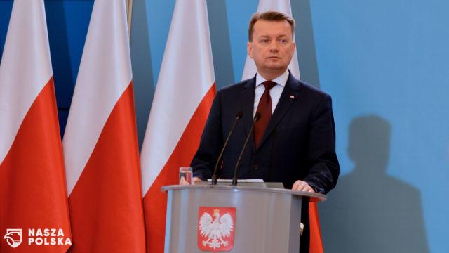 Szef MON: polityka Putina jest skierowana na odbudowę imperium rosyjskiego