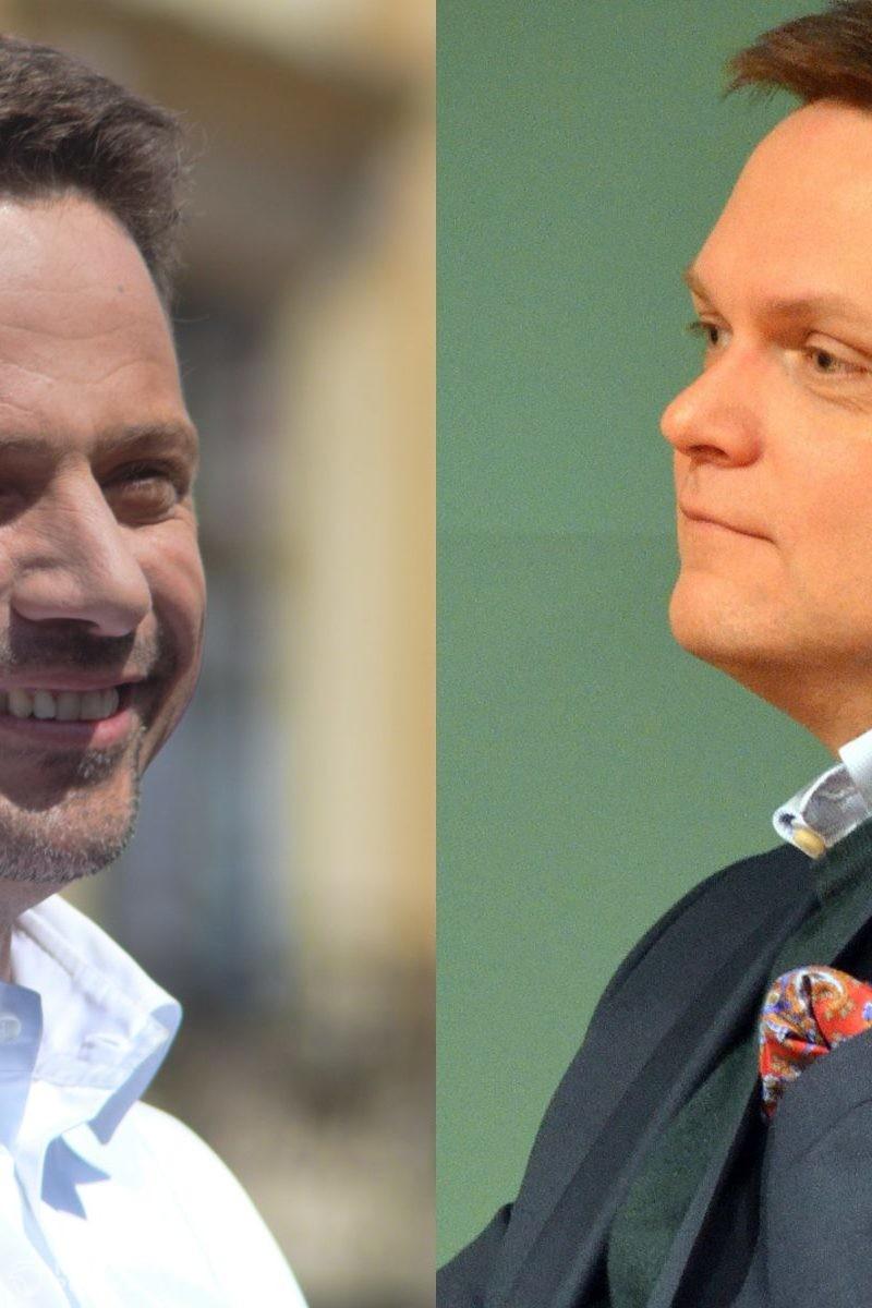 Kantar: Hołownia i Trzaskowski ocenieni jako najinteligentniejsi politycy