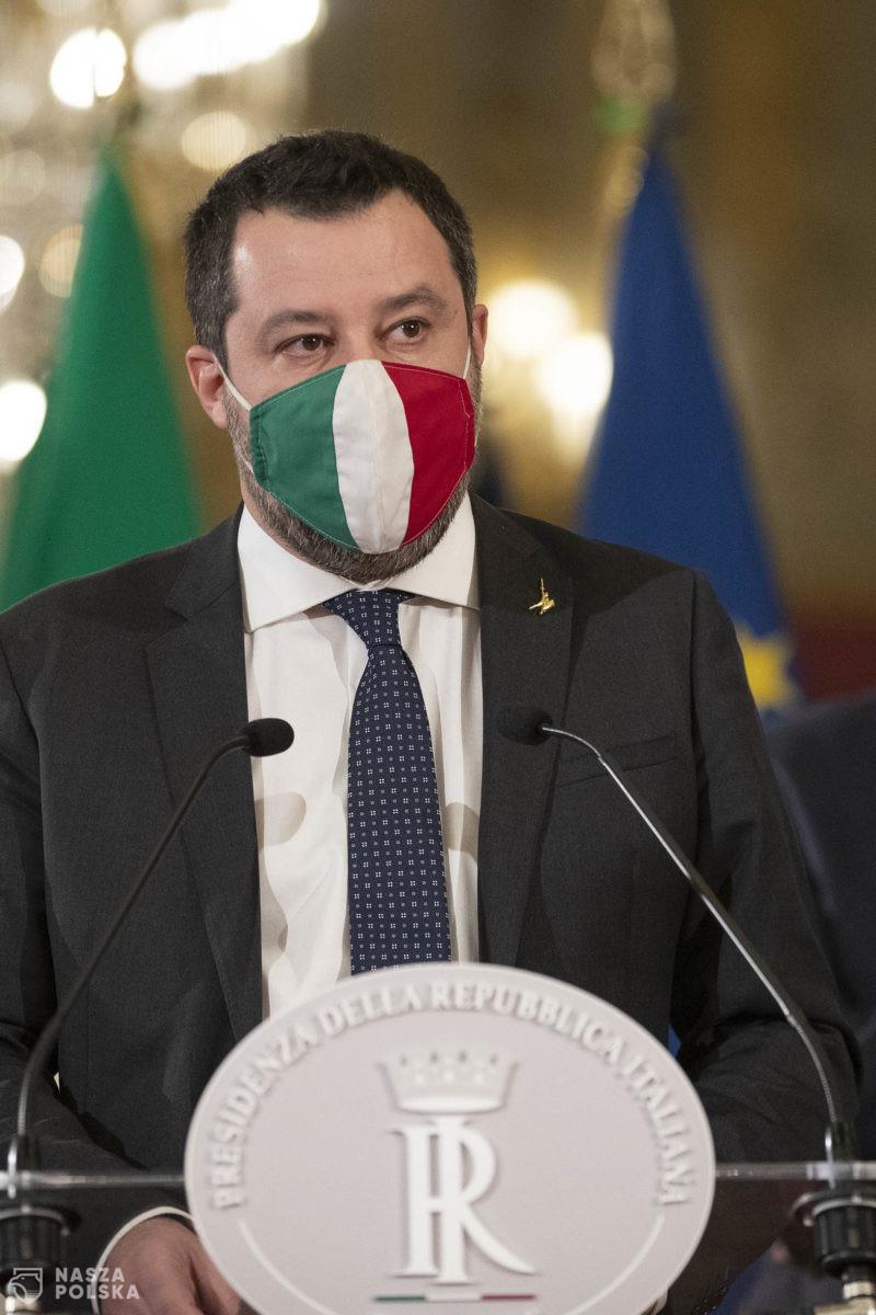 Włochy/ B. wicepremier Salvini stanie przed sądem za przetrzymywanie migrantów