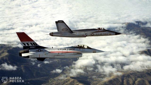 Amerykańskie myśliwce przyleciały do Polski w ramach ćwiczeń