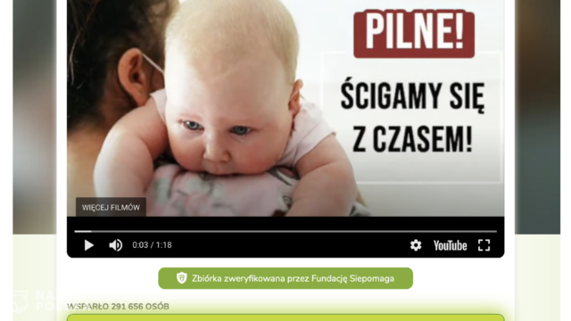 Polacy są wspaniali! Gigantyczna zbiórka na leczenie Celinki zakończona sukcesem!