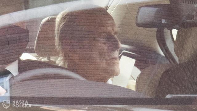 W. Brytania/ Zmarł książę Filip, mąż królowej Elżbiety II