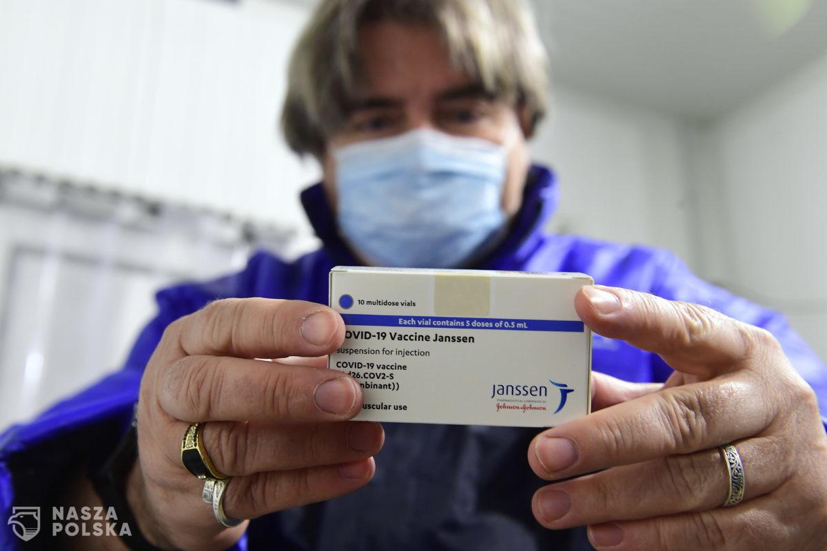 URPL nie ma pewności, czy jest związek między szczepionką firmy Janssen a zakrzepami krwi