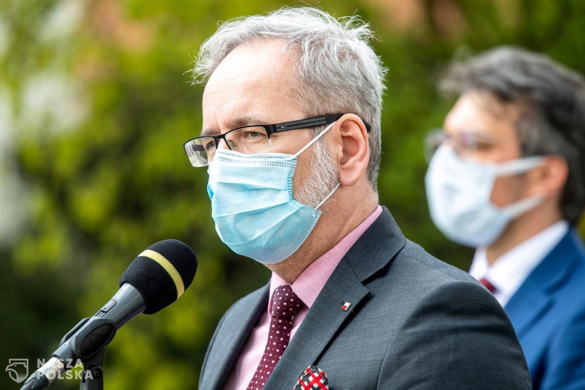 Niedzielski odwiedzi podkarpacką gminę, jedną z najsłabiej wyszczepionych przeciw COVID-19