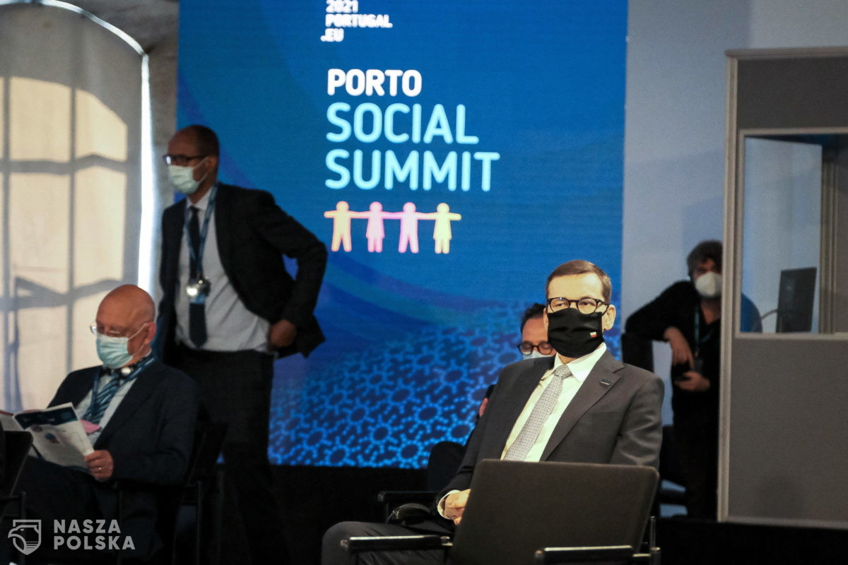 Portugalia/ Premier Morawiecki w sobotę weźmie udział w nieformalnym posiedzeniu Rady Europejskiej