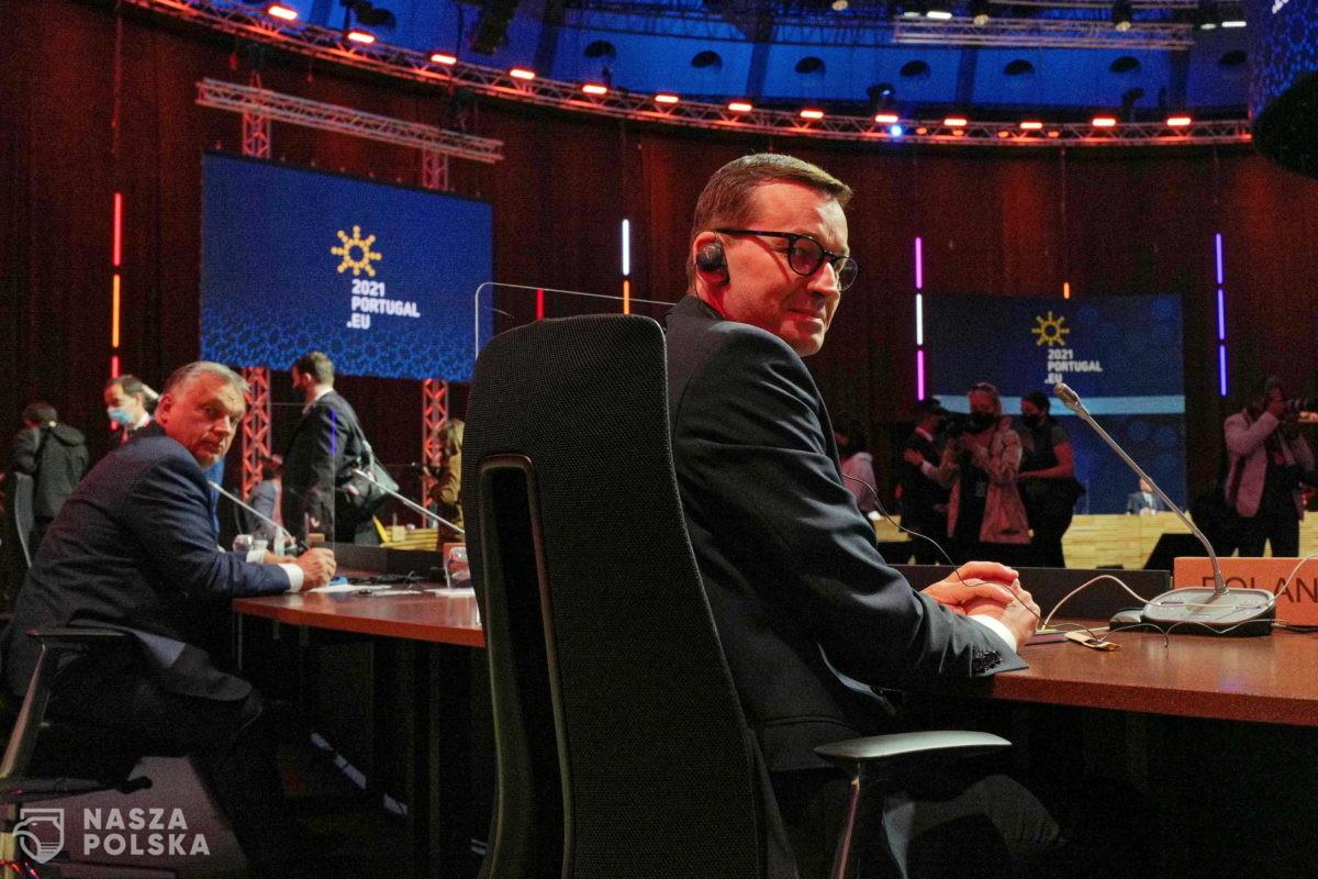 Premier: część tematów Szczytu Społecznego w Porto dotyczyła już rzeczywistości postpandemicznej